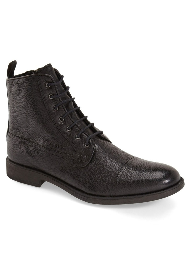 Geox 'Jaylon Mid' Cap Toe Boot (Men)