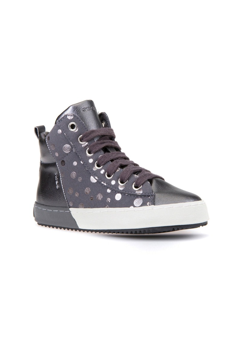 On Sale today! Geox Geox Kalispera Girl Dotted High Top