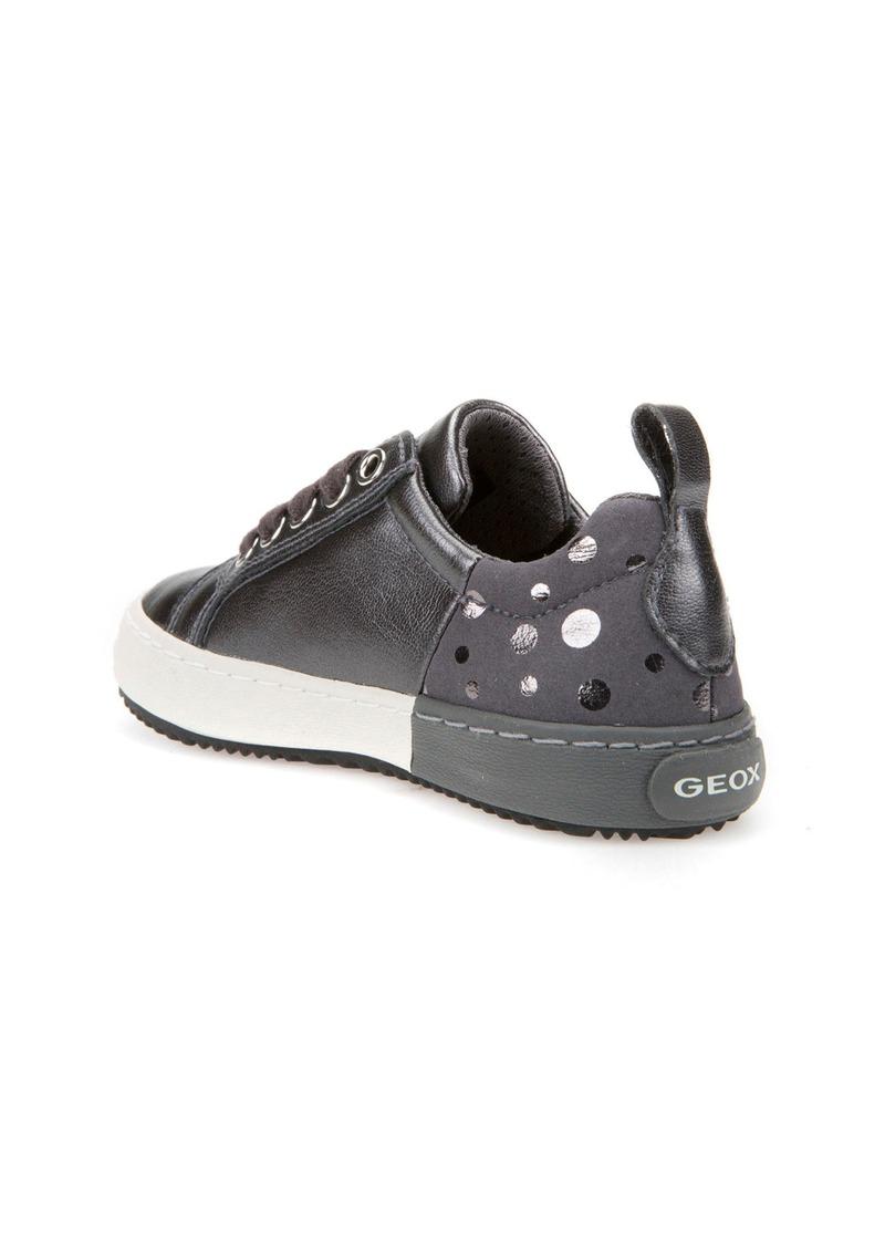 Geox Geox Kalispera Girl Dotted Low Top Sneaker (Toddler, Little Kid & Big Kid) | Shoes