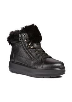 Geox Kaula ABX Waterproof Faux-Fur Cuff Sneaker (Women)