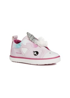 Geox Kilwi Glitter Slip-On Sneaker (Walker & Toddler)