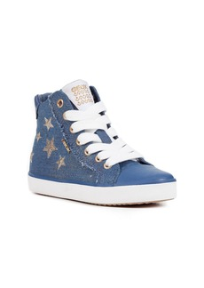 Geox Kilwi High Top Zip Sneaker (Toddler, Little Kid & Big Kid)