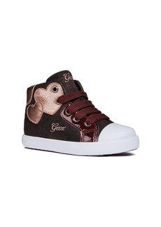 Geox Kilwi Sparkle High Top Sneaker (Walker & Toddler)