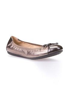 Geox Lola Fit Cap Toe Ballet Flat (Women)