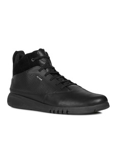 Geox Men's Aerantis Leather Sneakers