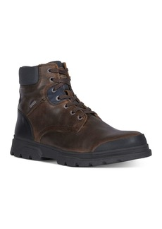 Geox Men's Clintford Waterproof Lace-Up Boots