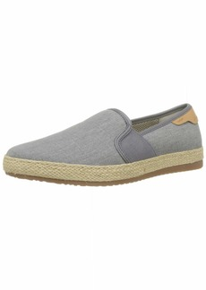 Geox Men's Copacabana 9 Espadrille Slip ON Shoe Loafer Flat Grey 43 Medium EU ( US)