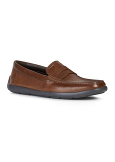Geox Men's Devan Leather Moccasins