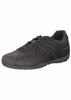 Geox Men's Ravex 3 Sneaker Black CHARC1 43 Medium EU ( US)
