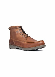 Geox Men's Rhadalf A Warm Lined Work Lace Up Ankle Boot Med EU/  45 M EU ( US)