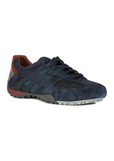 Geox Men's Snake Lace-Up Sneakers
