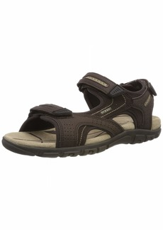 Geox Men's Strada 2 Touring Sandal Sport  41 Medium EU ( US)