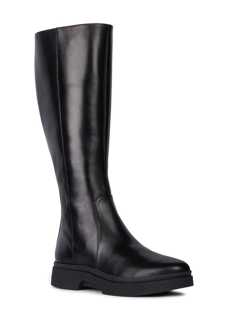 Geox Myluse Knee High Platform Waterproof Boot (Women)
