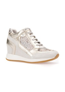 Geox Nydame Embellished Wedge Sneaker (Women)