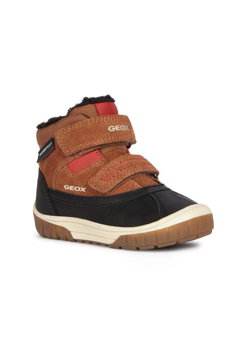 Geox Omar Waterproof Boot (Walker & Toddler)