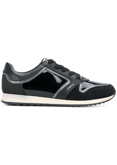 Geox panelled sneakers - Black