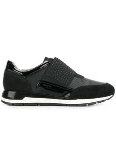 Geox pebble strap sneakers - Black