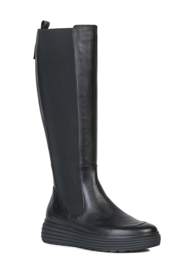 Geox Phaolae Amphibiox® Waterproof Tall Boot (Women)