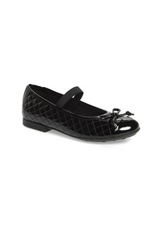 Geox 'Plie' Mary Jane Flat (Toddler, Little Kid & Big Kid)