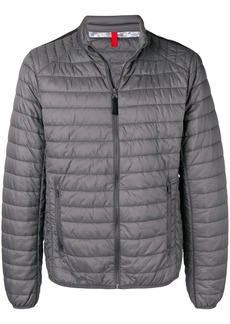 Geox quilted bomber jacket - Grey