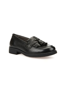 Geox 'Respira™ - Agata 8' Patent Leather Loafer (Toddler, Little Kid & Big Kid)