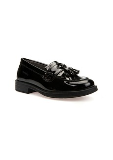 Geox Respira™ - Agata 8 Patent Leather Waterproof Loafer (Toddler, Little Kid & Big Kid)