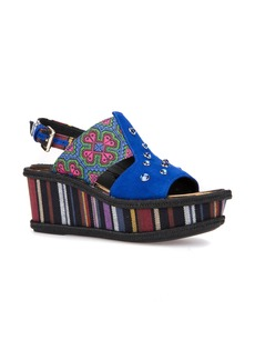Geox Sakely Platform Wedge Sandal (Women)
