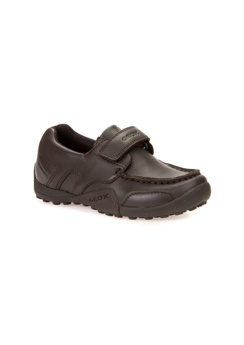 0cb16fc4321 SALE! Geox Geox  Snake Moc 2  Leather Loafer (Toddler