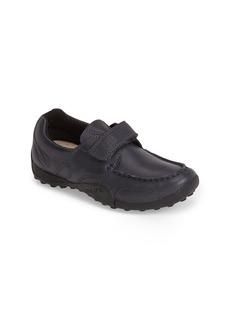 Geox 'Snake Moc 2' Leather Loafer (Toddler, Little Kid & Big Kid)