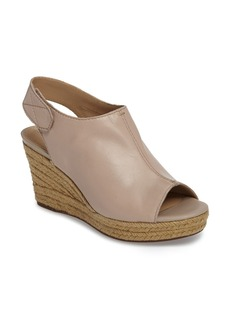 Geox 'Soleil' Slingback Wedge Sandal (Women)