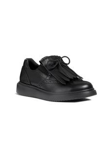 Geox Thymar Kiltie Fringe Sneaker (Toddler Kid, Little Kid & Big Kid)