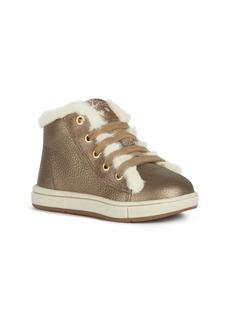 Geox Trottola Metallic Sneaker (Walker & Toddler)