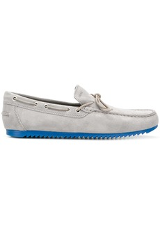 Geox two-tone classic loafers - Grey
