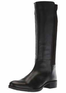 Geox Women's Laceyin 2 Tall Zip Riding Boot Knee High  40 Medium EU (10 US)