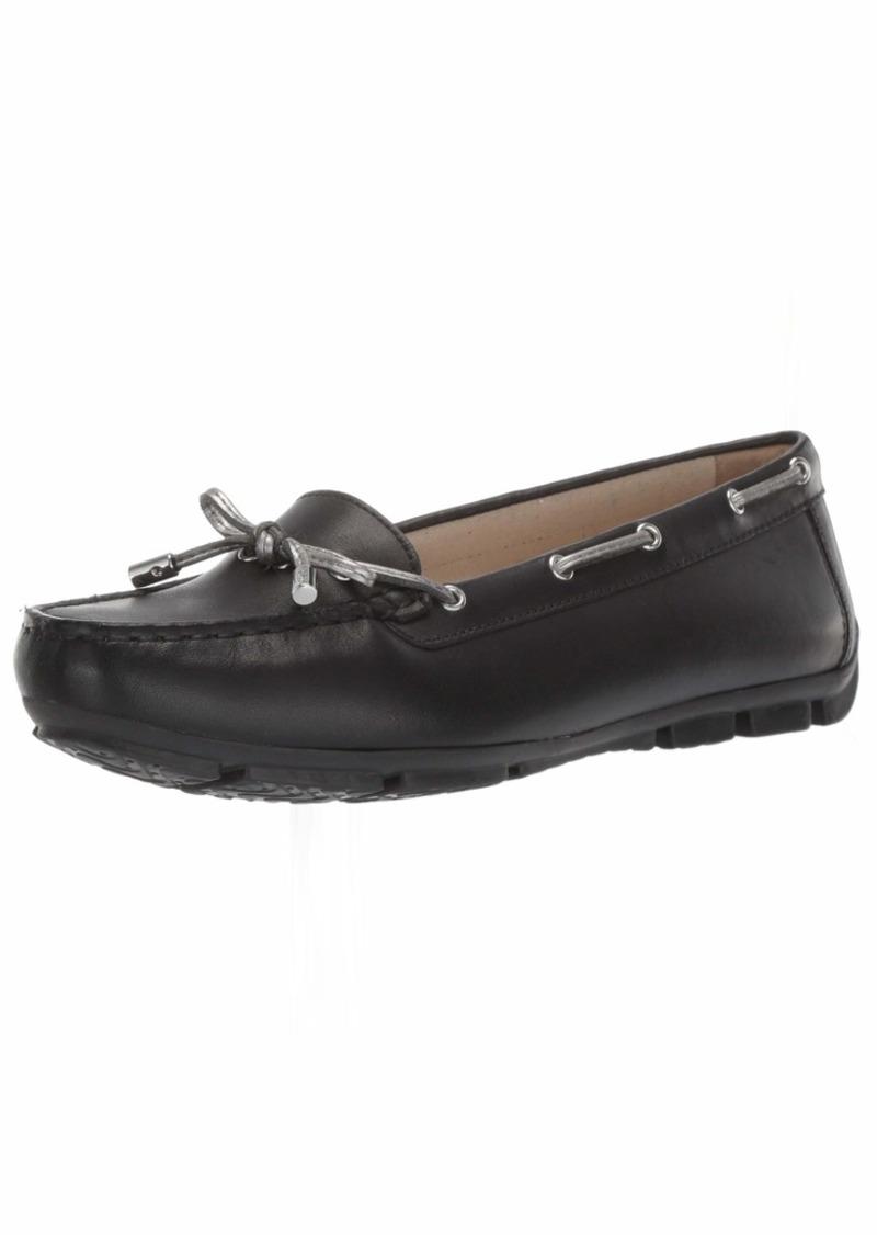 Geox Women's Marva 7 Driving MOC Loafer Boat Shoe  3 Medium EU ( US)