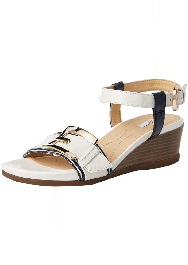 Geox Women's Mary Karmen 1 Wedge Sandal  3 M EU ( US)