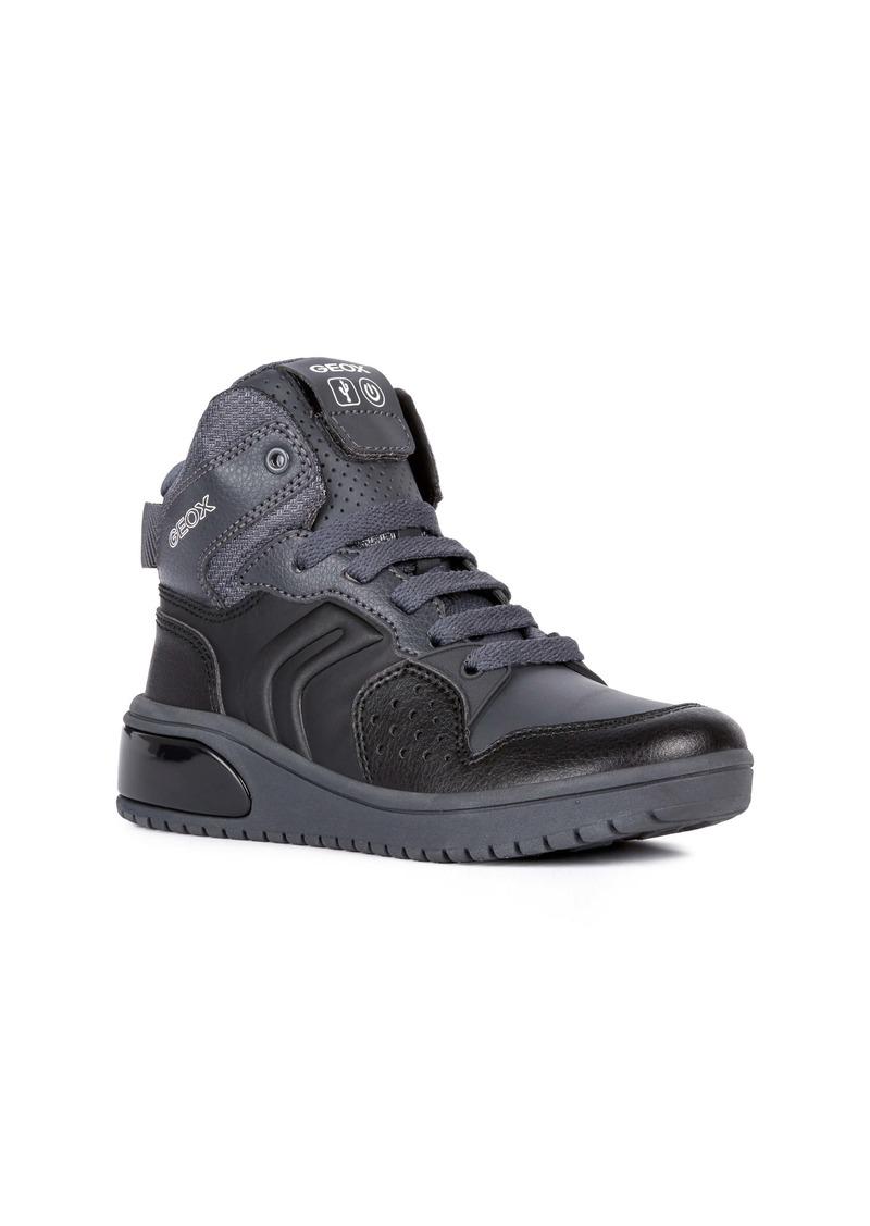 Geox XLED Water Resistant Bluetooth® Light-Up Sneaker (Little Kid & Big Kid)
