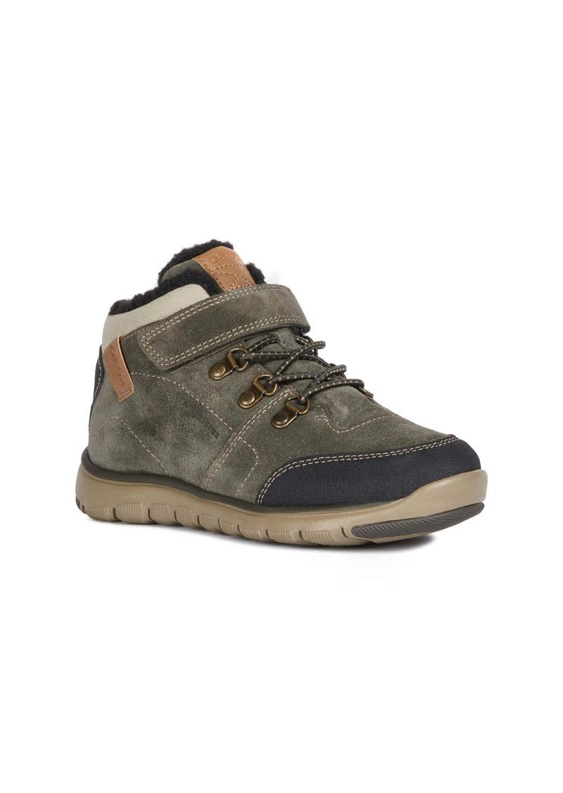 Geox Xunday Amphibiox Waterproof Boot (Big Kid)