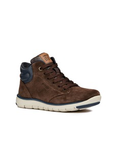 Geox Xunday Lace-Up Boot (Toddler, Little Kid & Big Kid)