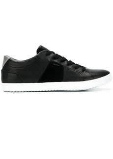 Geox panelled lace-up sneakers