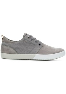Geox panelled low-top sneakers