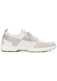 Geox patchwork embellished sneakers