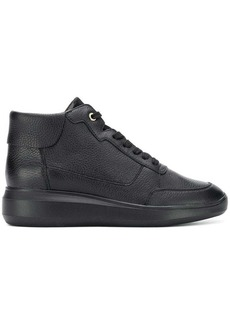 Geox wedge lace-up sneakers