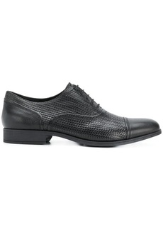 Geox woven oxford shoes