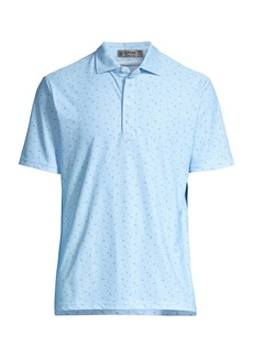 G/FORE Floral Polo Shirt