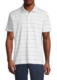 G/FORE Pencil-Stripe Polo
