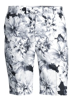 G/FORE Printed Floral Slim-Fit Shorts