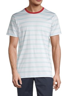 G/FORE Striped Cotton Tee
