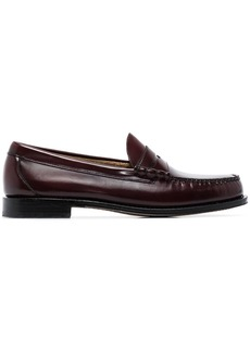 G.H. Bass & Co. Brown Weejuns Larson moc penny loafers