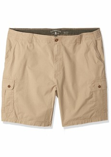 G.H. Bass & Co. Men's Big and Tall Ripstop Stretch Cargo Short